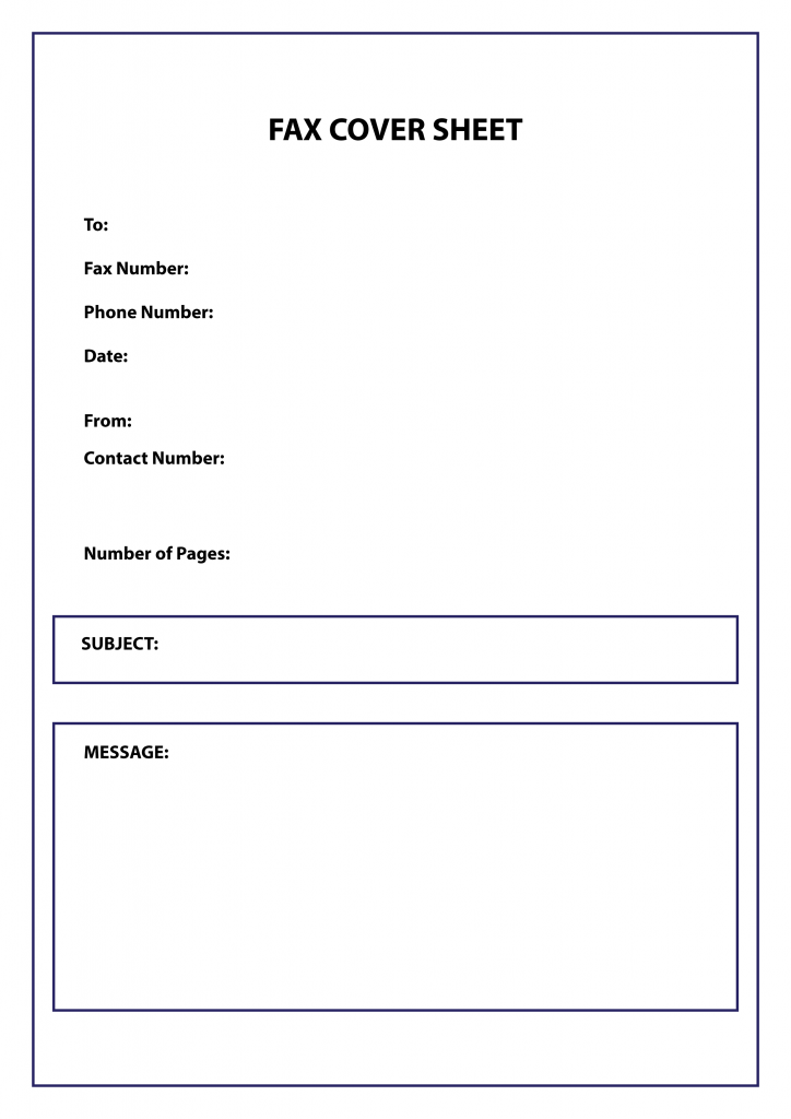 Confidential Cover Sheet PDF