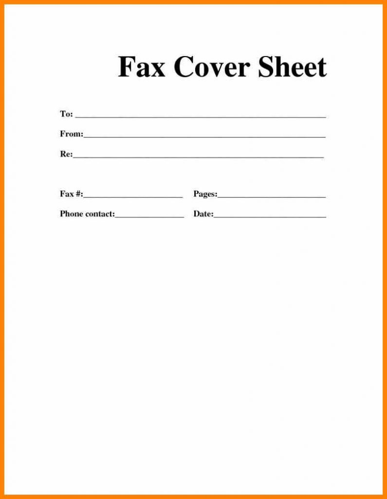Printable Fax Cover Sheet Word Microsoft Template In Fax Cover Sheet Template Word 2010