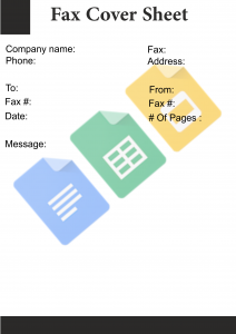 Fax Cover Sheet Word Doc
